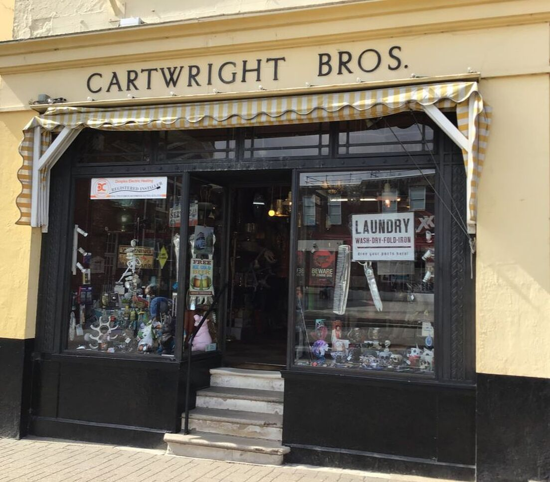 Cartwright brothers shop front